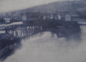 Karan Krupa, mlinovi, akvatinta